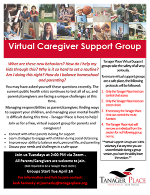 Virtual Caregiver Support Group